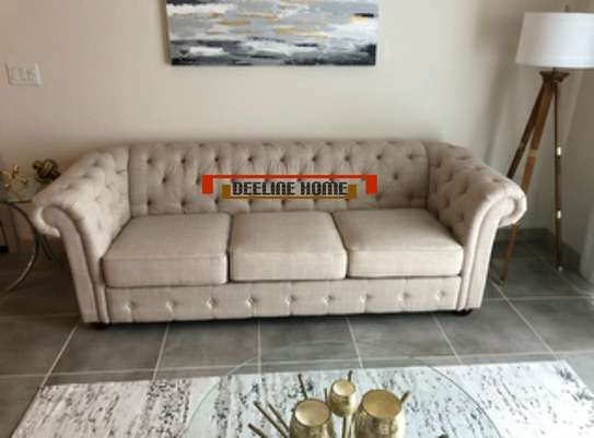 3 Seater Chesterfield Sofa image 6