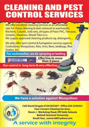 Pest control and cleaning servics