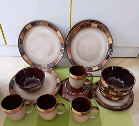 24pc ceramic dinner set/ Dinner set/24pc dinner set image 2