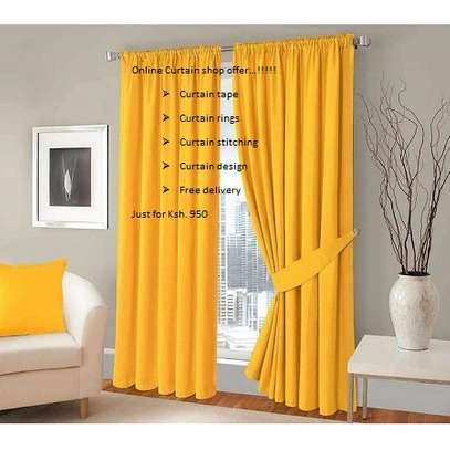 Fashionable curtains image 1