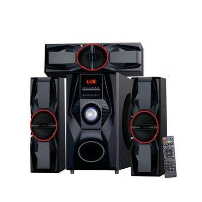 Polysonic MP-3315 Multimedia Speaker System 3.1CH - Black image 1