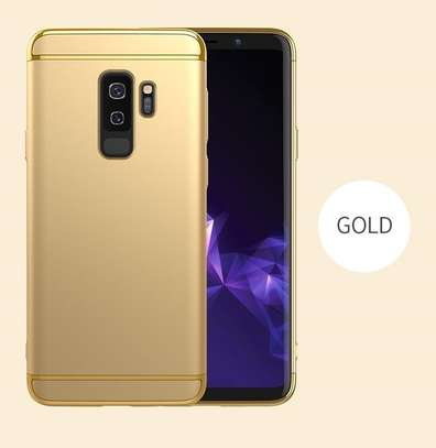 IPAKY 3 in 1 design Luxury classic hard PC for Samsung S9/S9+ image 4