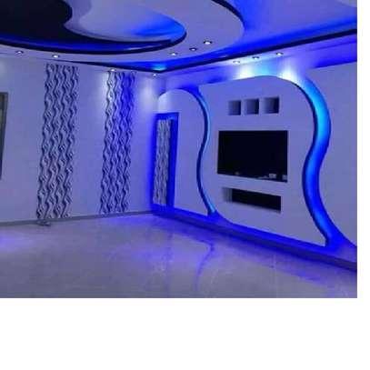 Front Wall Gypsum Latest Design image 3