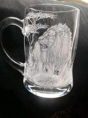 Hand engraved glasses image 6