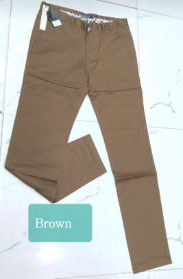 Men Soft Slim Fit  Khakis image 8
