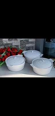 Ceramic serving bowls image 1