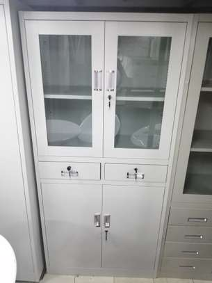 Two door filling cabinets image 7