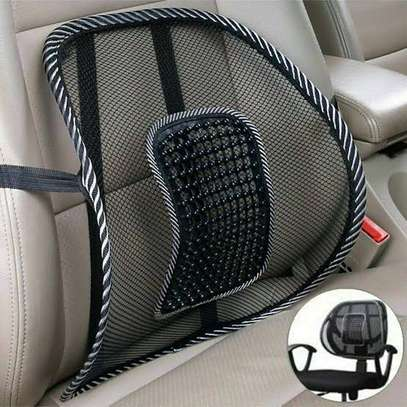 Lumbar backrest- support for car seat or office chair image 1