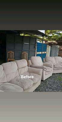 Repair, repainting and reupholstery of all imported recliners and other leather sofas image 10