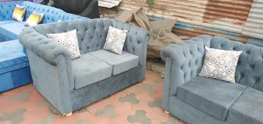 Ready 5-Seater Chesterfield Sofa image 1