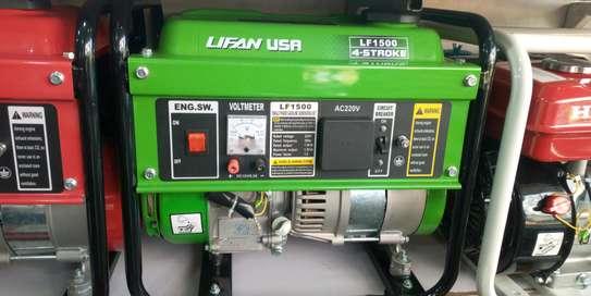 Original Lifan USA Generator 3.5kva Lf1500 image 2