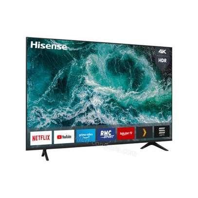 Hisense 43'' 4K ULTRA HD SMART TV, FRAMELESS, YOU-TUBE, BLUETOOTH, HDR A7 SERIES-Black image 1
