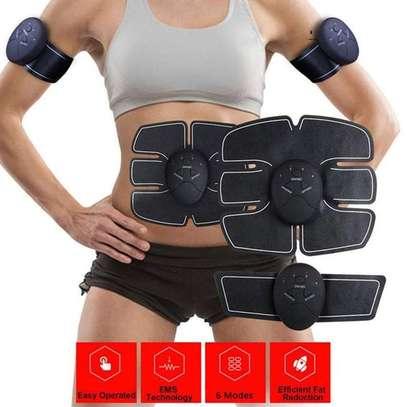 Abdominal Muscle Training Wireless EMS Belt Gym Body Massage image 3
