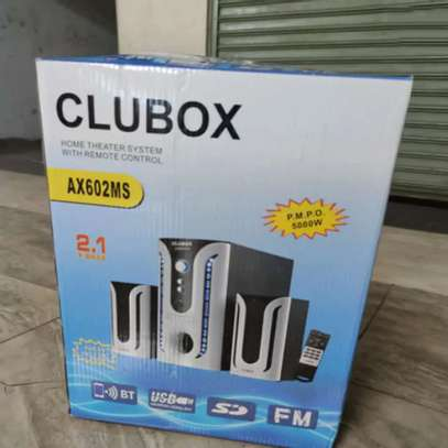Clubox 2.1 Channel AX602 Home Theater System image 1