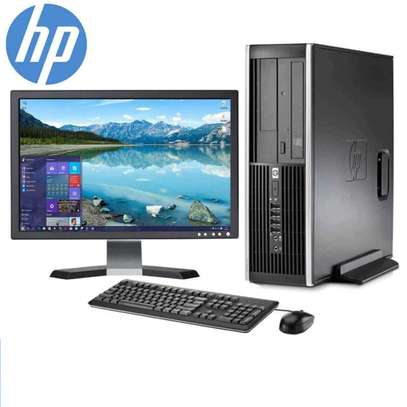 "HP Desktop Core 2 Duo 2.6GHz - New 2GB Memory - 250GB HDD - Windows 10 Home Edition - 19"" Generic Monitor, NEW Keyboard image 1"