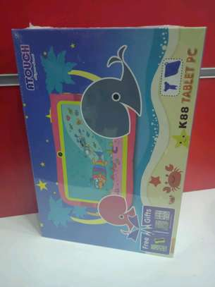 Kids Tablets in shop-Atouch K88 with 8gb storage and 1gb ram+Free gifts image 1
