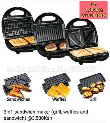3in1 Sandwich Maker image 2