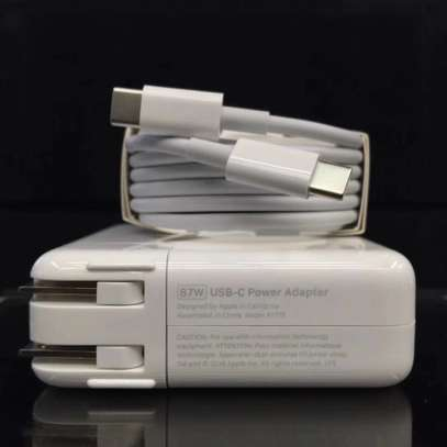 Apple Magsafe USB Type C 87W A1719 Power Adaptor Charger [87 W/ USB C] image 2