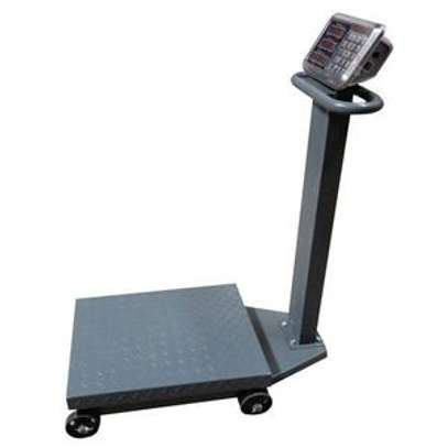 Stainless Steel  Indicator Carbon Steel Frame weighing Platform Scale 500kg image 1