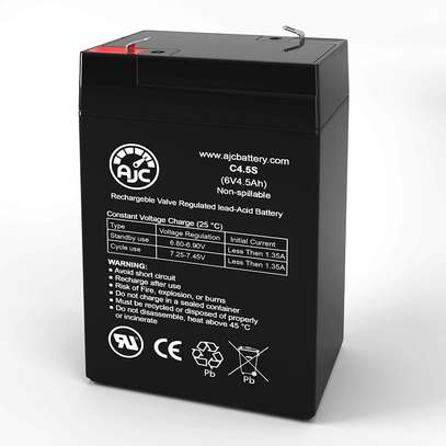 6v 4ah rechargeable battery image 1