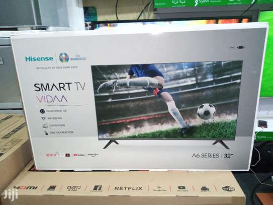 Hisense 32A62KEN,32 Inch Frameless Smart Android TV A6Series BT WIFI image 1