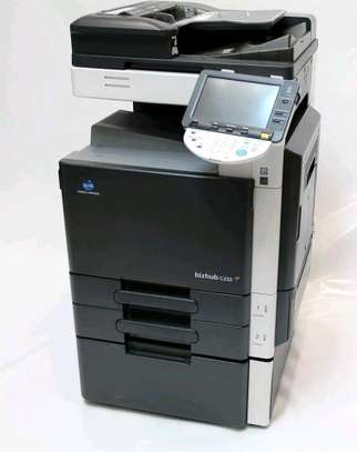 Durable konica minolta bizhub C220 photocopier machine coloured image 1