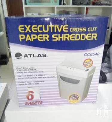 Atlas paper shredder CC0540 ( 6sheets) image 1