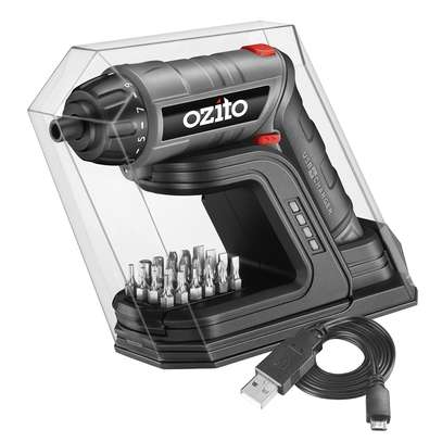 OZITO CONVERTIBLE SCREW DRIVER TORCH WITH CHARGER BASE 3.6 VOLTS- image 1