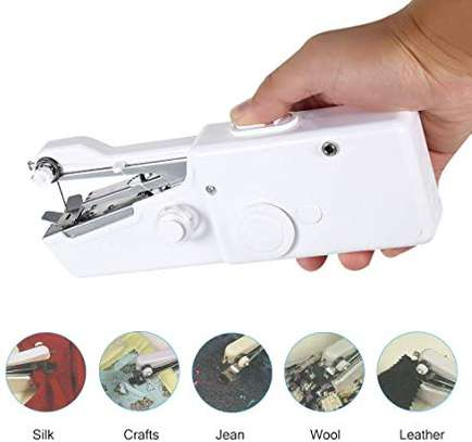 Electric Handheld portable & cordless sewing machine image 2