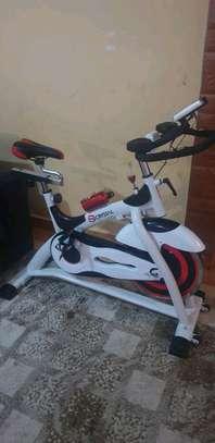 Crystal Fitness Spinning Bike For Sale. image 1