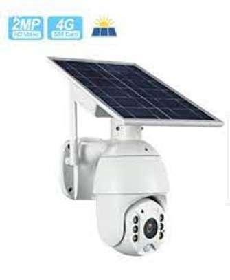 1 Solar Power 4G PTZ Camera Sim Card image 1