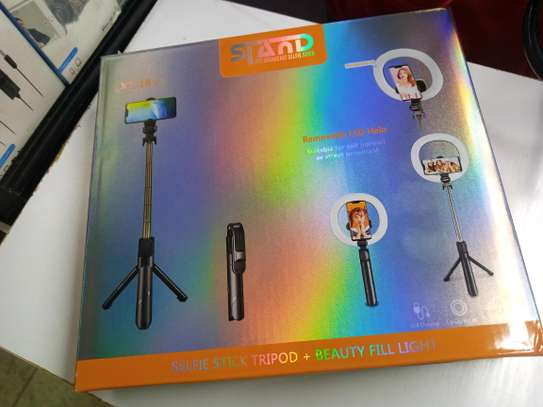 Xt-18+ Ring Light,Selfie Stick And Tripod Stand. image 1