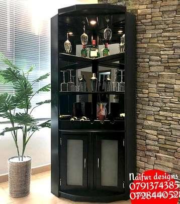 Wine rack/corner stand/utensil rack/cabinets image 1