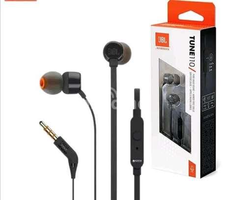 Jbl tune 110 wired earphones image 1