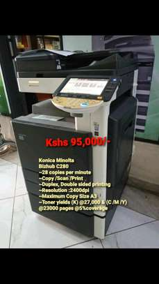 Photocopies Machini bizhub c280 on sale image 1