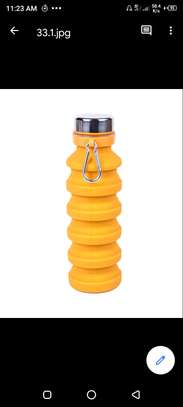 water bottle(foldable)yellow image 1