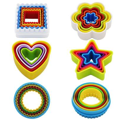 Plastic Dough Cookie Cutter, Assorted - 1 Set image 5