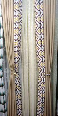STYLISH SHEERS AND CURTAINS PER METRE @ 1300/= image 4