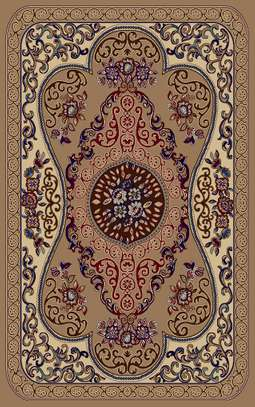 7*10 Turkish light silky carpet