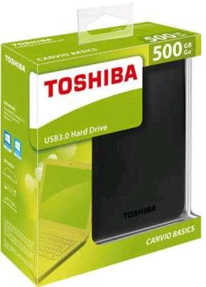 500Gb Toshiba ext Hdd image 1