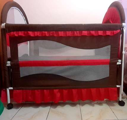 Baby cot - As good as new image 2