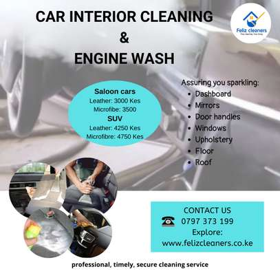 Car Interior & Engine Cleaning image 1