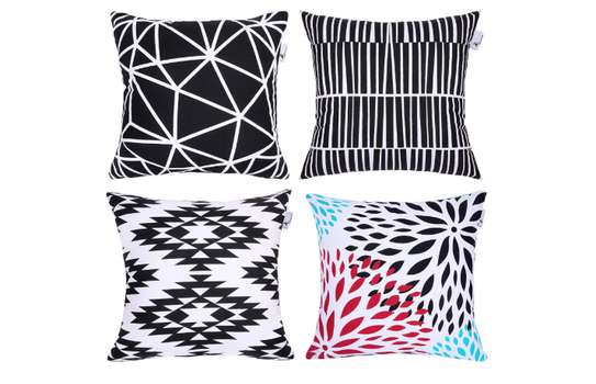 Decorative Unique Throw Pillow Case Cushion Covers a set of 4 pieces at Ksh. 3200 image 4