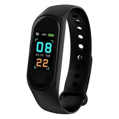 Generic M3 Smart Bracelet Heart Rate Monitor,Sports Pedometer image 1