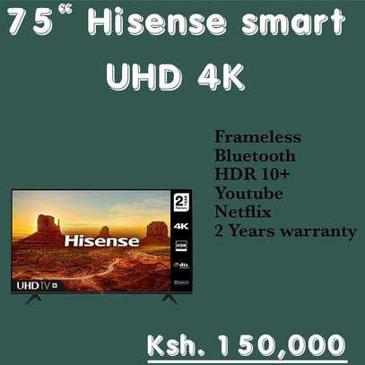 75 Hisense 75 Inch 4K UHD Frameless - June Flash Sale image 1