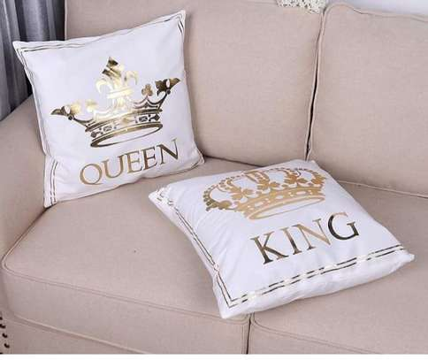 UNIQUE BRANDED THROW PILLOWS image 1