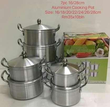 Aluminium Cooking Pots image 1
