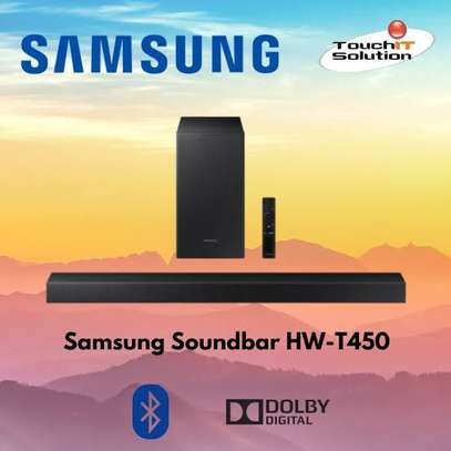 Samsung HW-T450 2.1ch Soundbar with Dolby Audio (2020)-Hot Deals image 1