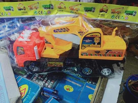 lorry crane Toy car image 1