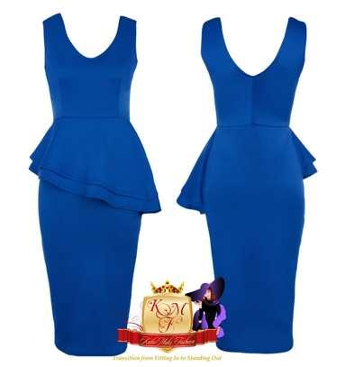 Sleeveless Peplum Dress image 3